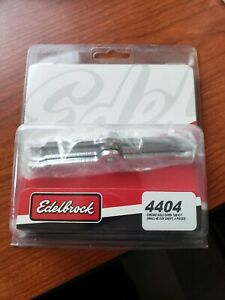 Edelbrock 4404 Chrome Hold down Tab Kit Small Block Chevy 4 Pieces