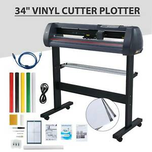 Vinyl Cutter Plotter Cutting 34 Sign Maker Software Bundle Craft Cut Art Craft