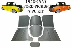 1940 1941 1946 1947 Ford Pickup Truck Front Floor Pans toe Boards Trans Covers