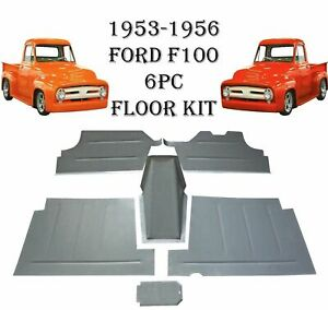 1953 1954 1955 1956 Ford Pickup Truck F 100 Floor Pan Toe Board Tranny Cover