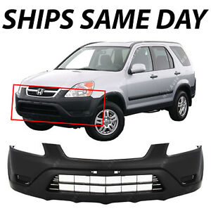 New Textured Black Front Bumper Cover For 2002 2003 2004 Honda Cr v 02 03 04