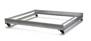 New Gqf 0522 Base Stand For Box Brooder Swivel Casters Bolt To Brooder