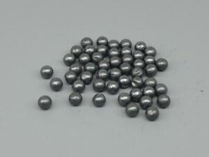 50 .22 Lead Ball BBs for Pocket Artillery Mini Decorative Cannons $7.49