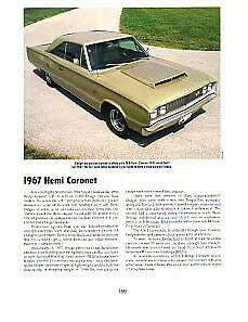 1967 Dodge Coronet 426 Hemi Article Must See