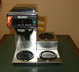 Bunn Cwtf 15 3l Low Profile Brewer 120v For Glass Carafe Coffee Pot 90292