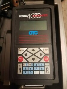 Otc Enhanced Monitor 4000 Diagnostic System Scan Tool