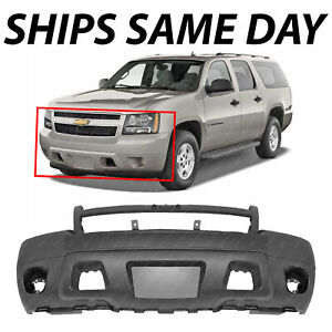 New Primered Front Bumper Cover For 2007 2014 Chevy Suburban Tahoe Avalanche