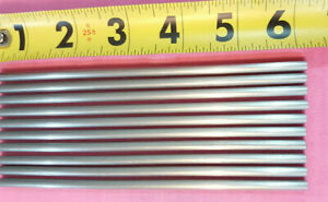 303 Stainless Steel Rod 3 16 Diameter X 6 0 Long 100 Pieces New