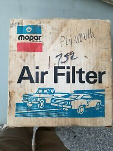 Vintage Rare Air Filter Element With Metal Screen N o s 2206376