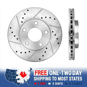 Front Rotors For 1994 1997 1998 1999 2000 2001 2002 2003 2004 Ford Mustang