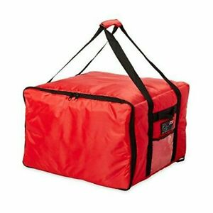 Rubbermaid Commercial Proserve Catering Delivery Bag Large Red Fg9f3900red