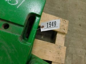 John Deere Set Of Front Tractor Weights 12 Total Tag 1949