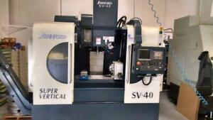 2013 Johnford Sv40 Sn Mlb130533 With 12 4th Axis Only 73 Cutting Hours