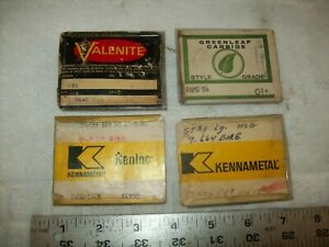 Assortment Of Indexable Carbide And Other Insertsd For Lathe Cutting Valenite Et