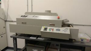 Puhui T960 Lead free Reflow Oven With 480v 3phase Converter