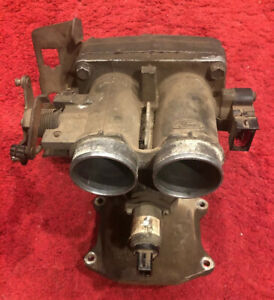 94 97 Ford F250 E350 7 5l 460 Upper Intake Manifold Throttle Body Assembly
