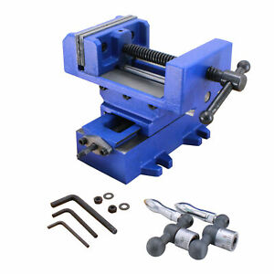 Hfs r 4 Compound Cross Slide Industrial Strength Benchtop Drill Press Vise