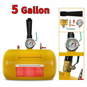 5 Gallon Air Tire Bead Seater Blaster Tool Seating Inflator Car Truck W handle