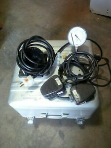 Wells Johnson Medical Vacuum Suction Aspirator Iii Portable Pump System