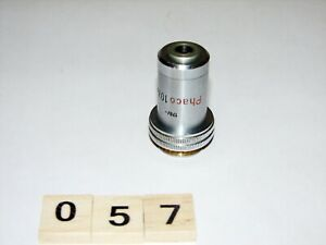 Leitz Ortholux Microscope Phaco 10x Objective for Phase Contrast Condenser
