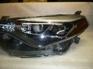 2018 Toyota Corolla Left Headlight Assy Led Part 81150 02m90