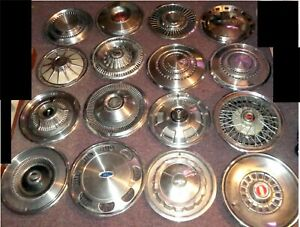 Huge Lot Of 50 Vintage Hubcaps Chevy Ford Pontiac Buick Impala Ltd Pmd Caprice