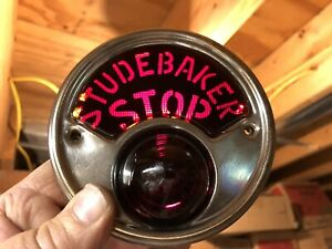 1 oem 1928 1929 1930 1931 Studebaker President commander stop Tail Light