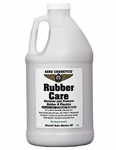Aero Cosmetics Rubber Care Tire Protectant No Tire Shine Tire Conditioner 64oz