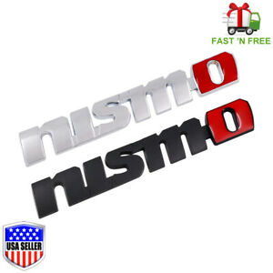 New Nismo Nissan Jdm Racing 3d Emblem Trunk Metal Badge Sticker Decal Logo