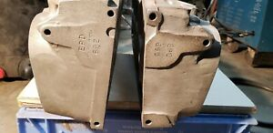 Gm Big Block Chevy Rectangle Aluminum Cylinder Heads Solid Snowflake By Epd