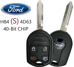 New Ford Remote Key 4 Button Oucd6000022 Cwtwb1u793 4d63 40 Bit S Oem Chip