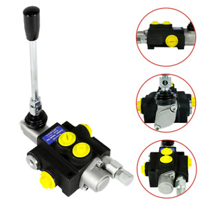 1 Spool Hydraulic Directional Control Valve Manual Operate Monoblock Structure