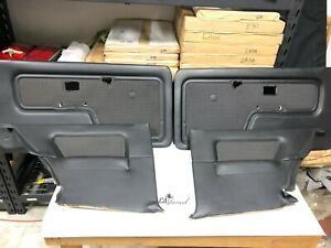 Bmw E30 Coupe Front Rear Door Cards houndstooth