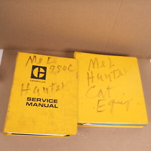 Caterpillar Cat 980c Wheel Loader Repair Service Manual 63x W Maintenance Log