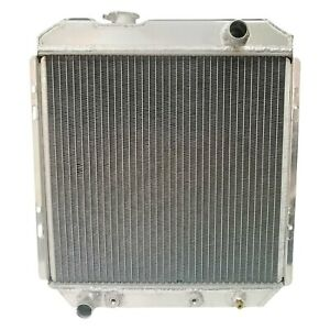For Ford Mustang 1965 1966 Liland Global 251aa Engine Coolant Radiator