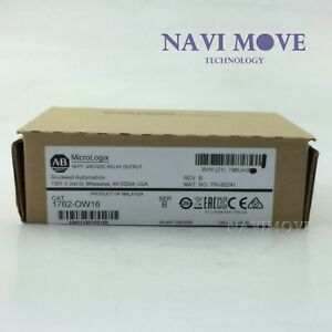 2020 New Sealed Allen bradley 1762 ow16 Micrologix 16 Points Output Module Usa