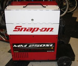 Snap on Mig Welder Mm 250 Sl