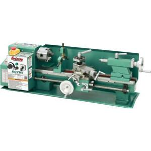Grizzly G0765 7 X 14 Variable speed Benchtop Lathe