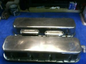 Aluminum Big Block Chevy Tall Valve Covers Bbc 396 402 427 454