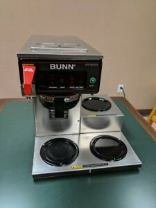 Bunn Cwtf 15 3l Low Profile Brewer 120v For Glass Carafe Coffee Pot 90527