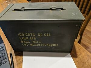 Ammo Can M2A1 US Military 5.56 50 cal $16.99