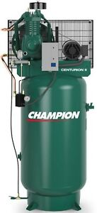 The Best 5hp Air Compressor Champion Vrv5 8 Fully Packaged 5 Hp Single Phase