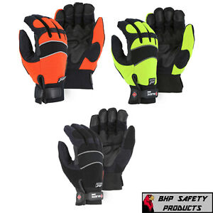 Majestic 2145 Winter Hawk Armorskin Insulated Gloves Waterproof Breathable