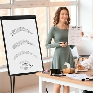 Dry Erase Board With Stand Magnetic White Board Presentation Display Board