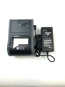 Epson Tm p60 Bluetooth Portable Pos Thermal Printer M196b Wireless With Cables