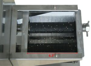 1pc 5mm Blade For Qe 110v Commercial Meat Cutting Machine Meat Slicer 500kg h Us