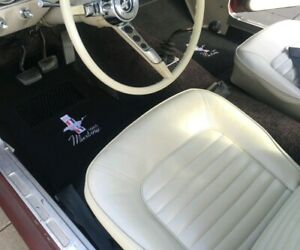 1964 1965 1966 1967 1968 Ford Mustang Floor Mats Custom Embroidered
