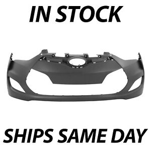 New Primered Front Bumper Cover Replacement For 2012 2017 Hyundai Veloster 12 17