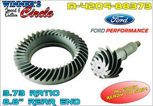 Ford Racing M 4209 88373 8 8 Ring And Pinion 3 73 Ratio Set Free Shipping
