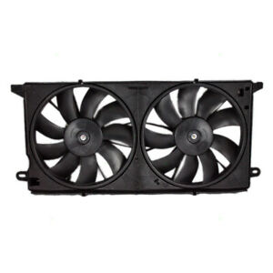 Cadillac Deville Oldsmobile Aurora Dual Cooling Fan Assembly